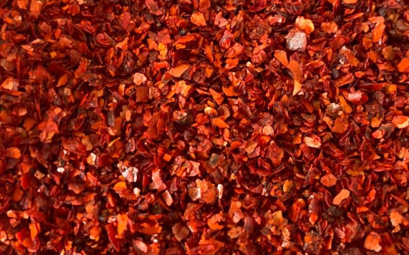 Acı Kırmızı İpek Pul Biber 1.Kalite  1kg